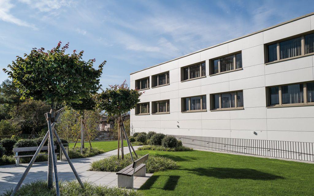 Appartements Schaanwald Gartenanlage