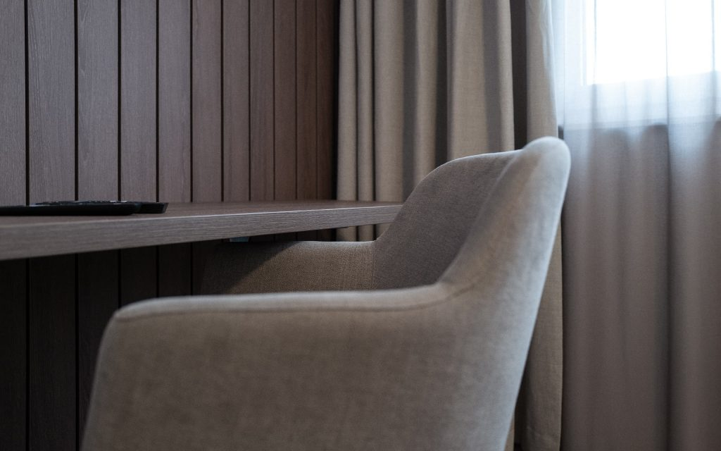 Appartement Ausstattung Sessel