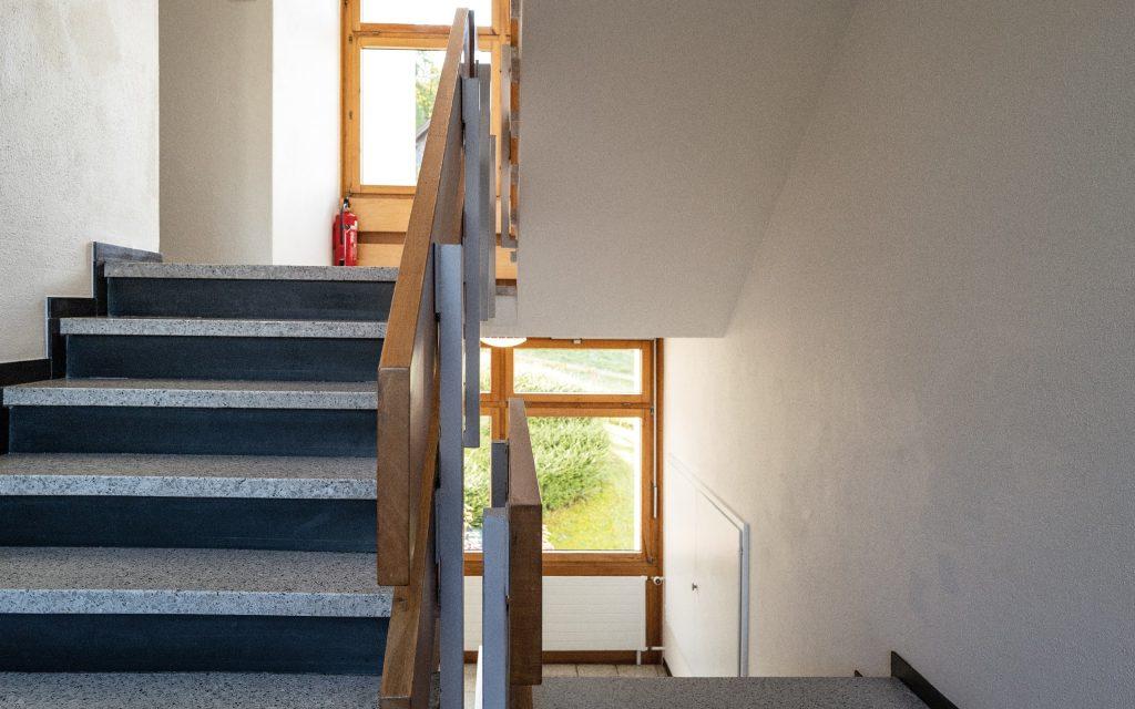Appartements Triesen Treppenhaus