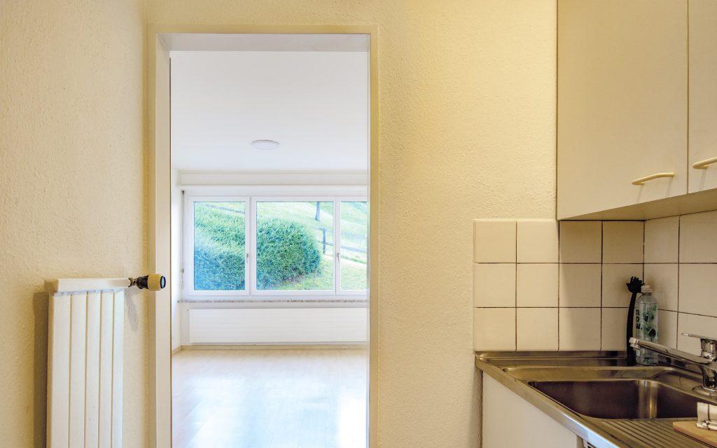 Appartement unmöbliert Küche