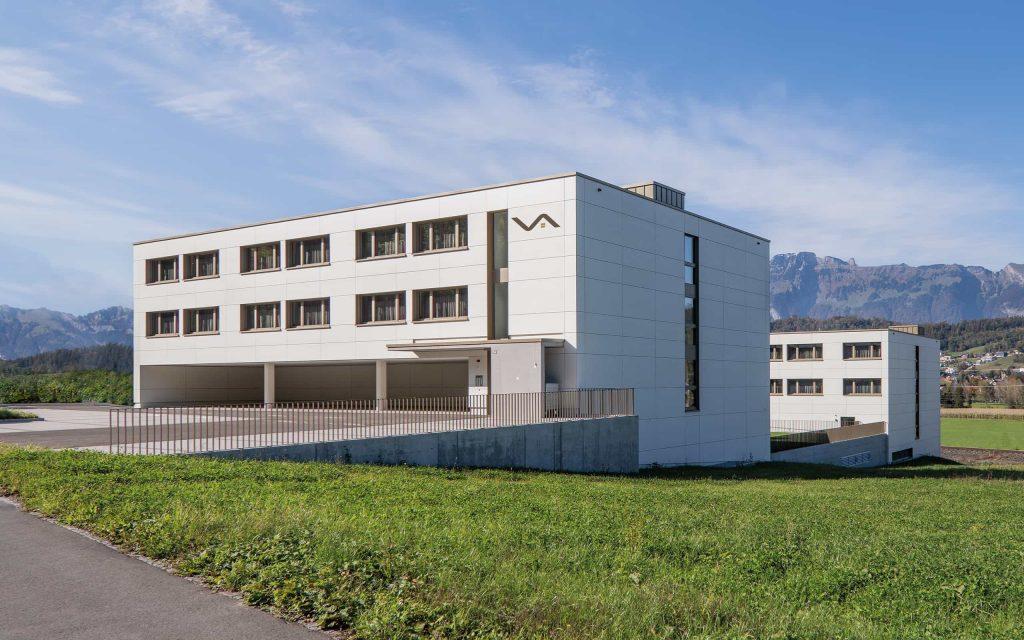Gebäude Vogt Appartements in Schaanwald