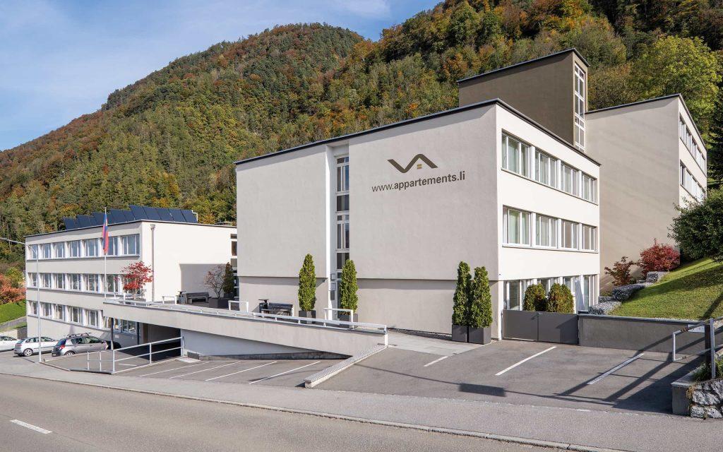 Gebäude Vogt Appartements in Triesen